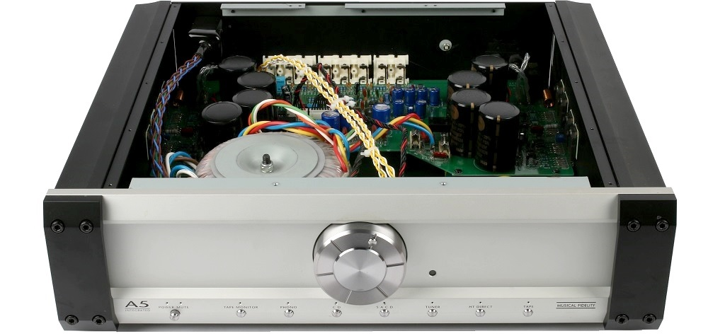 Musical Fidelity A5 amplifier upgrade