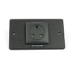 DCT UltraSocket Single UK Double faceplate