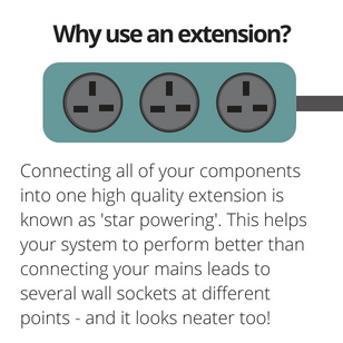 Why use an extension?