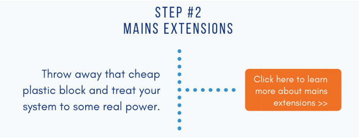 Mains extensions