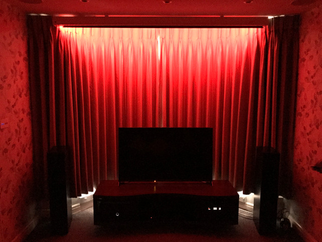 A stylish Home Cinema